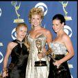 Emilie de Ravin, Maggie Grace et Evangeline Lilly - 57e Emmy Awards, le 18 septembre 2005.