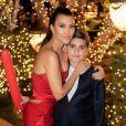 Kourtney Kardashian et son fils Mason. Décembre 2019.