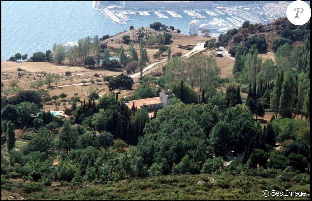 Le domaine de Rocagel en 1996.