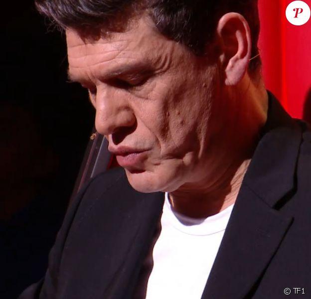 Marc Lavoine lors des K.O - Émission du samedi 4 avril 2020, TF1