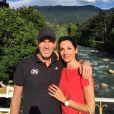Zinédine Zidane et sa femme Véronique le 27 juin 2015.
