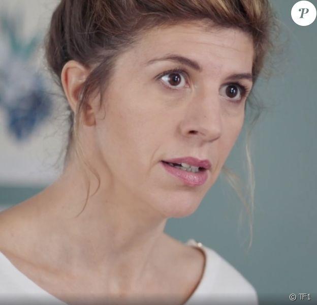 """Juliette Tresanini joue Sandrine Lazzari dans la série """"Demain nous appartient"""", diffusée sur TF1."""