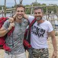 """Ludovic et Samuel, grands gagnants de la saison 8 de """"Pékin Express"""" sur M6."""