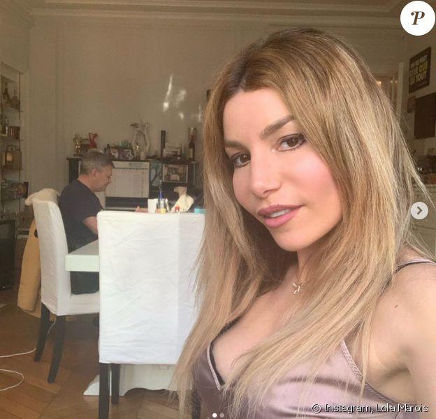 Lola Marois et Jean-Marie Bigard. Mars 2020.