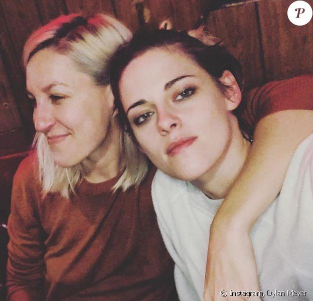 Dylan Meyer et Kristen Stewart sur Instagram. Le 10 avril 2020.