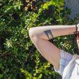Exclusif - Kristen Stewart aide une amie à déménager dans le quartier de Los Feliz à Los Angeles. Le 3 mars 2020.