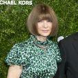 """Anna Wintour et Michael Kors au photocall de la soirée des """"13ème Annual Golden Hearts Awards"""" à New York, le 21 octobre 2019."""
