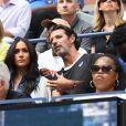 Meghan Markle au côté de Anna Wintour dans les tribunes de la finale femme du tournoi de l'US Open 2019 opposant Serena Williams à Bianca Andreescu à New York, le 7 septembre 2019.