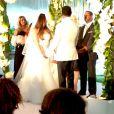 Nicole Pantenburg et Kenneth Edmons se marient à Beverly Hills, le samedi 17 mai 2014.