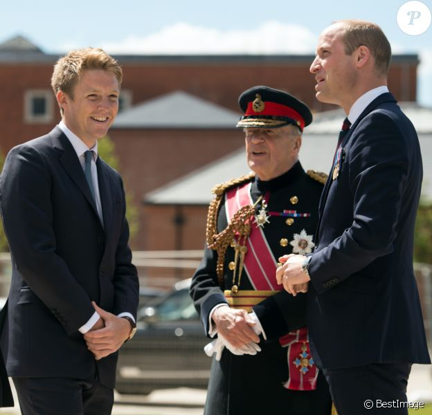 Le prince William, duc de Cambridge avec Hugh Grosvenor, duc de Westminster - Inauguration du Defence and National Rehabilitation Centre a Nottinghamshire, le 21 juin 2018.