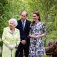 Kensington Palace a dévoilé cette photo du prince William avec sa femme Kate Middleton pour l'anniversaire d'Elizabeth II, sur Instagram, le 21 avril 2020.