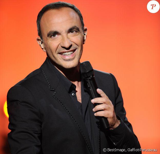 """Exclusif - Nikos Aliagas - Surprises - Enregistrement de l'émission """"La Chanson secrète 4"""", qui sera diffusée le 4 janvier 2020 sur TF1, à Paris. Le 17 décembre 2019 © Gaffiot-Perusseau / Bestimage"""