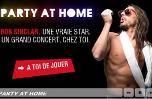 Gagnez un concert de Bob Sinclar... à domicile ! Et d'autres stars à venir dans votre salon !