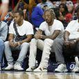 """Future dans les tribunes du match de NBA """"Toronto Raptors vs Miami Heat"""" à Miami, le 2 janvier 2020."""