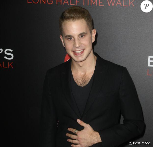 Ben Platt à la première de 'Billy Lynn's Long Halftime Walk'' lors du 54ème Festival du Film au Lincoln Square à New York, le 14 octobre 2016