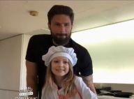"""Olivier Giroud dans """"Tous en cuisine"""" : sa fille Jade lui vole la vedette !"""