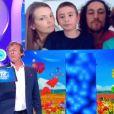 L'ex champion Julien fait une apparition dans les 12 coups de midi avec sa famille - TF1, 13 mai 2020