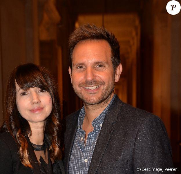 Christophe Michalak et sa femme Delphine McCarty - Prix de la femme d'Influence à Paris le 25 novembre 2019. © Veeren/Bestimage