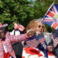 Atmosphère le jour du mariage du prince Harry et de Meghan Markle à Windsor, le 19 mai 2018.