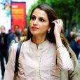 Rania de Jordanie dans les rues de Paris, une vraie citadine.