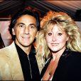 Archives - Peter et Sloane lors du dîner de gala Perrier à Paris. Le 22 mars 1996.