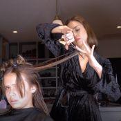 Jessica Alba s'improvise coiffeuse pour ses filles Honor et Haven