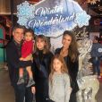 Jessica Alba, son mari Cash Warren et leurs trois enfants Hayes, Haven et Honor. Décembre 2019.