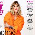 """Daphné Bürki en couverture du nouveau numéro de """"Télé 7 jours"""" paru lundi 18 mai 2020"""