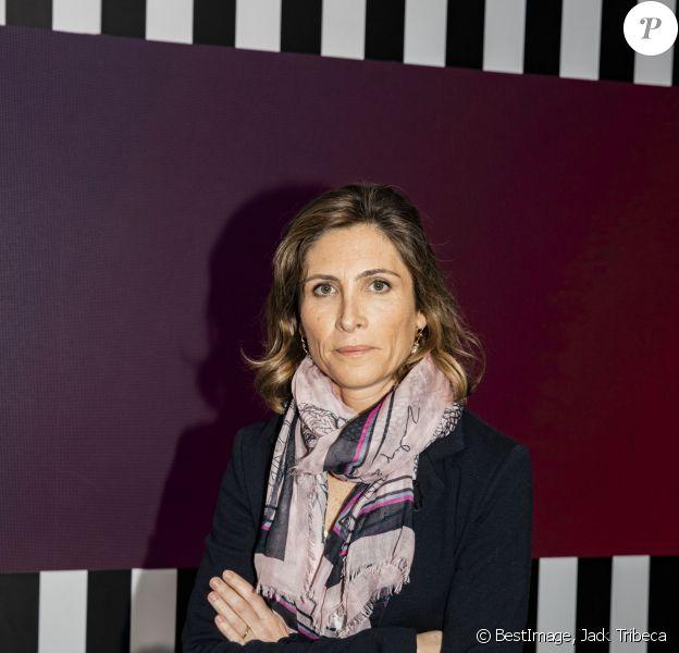 """Exclusif - Julia de Funes - Enregistrement de l'émission """"Clique"""" présentée par M. Achour sur Canal Plus à Issy-les-Moulineaux le 28 janvier 2020. © Jack Tribeca/Bestimage"""