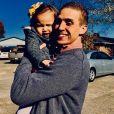 Hagen Mills et sa fille Mila sur Facebook. Le 24 novembre 2017.