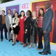 "Jack Davenport, Sam Jaeger, Reid Scott, Marc Cherry, Lucy Liu, Ginnifer Goodwin, Kirby Howell-Baptiste ou encore Alexandra Daddario à la première de la série de CBS ""Why Women Kill"" à Beverly Hills, le 7 août 2019."