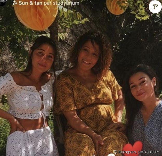 """Inès, Naoil et Charlotte de """"Koh-Lanta"""" se retrouvent jeudi 21 mai 2020 pour l'anniversaire de Charlotte - Instagram"""