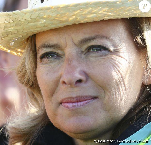 Valerie Trierweiler - Course La Parisienne à Paris le 8 septembre 2019. © Gwendoline Le Goff / Panoramic / Bestimage