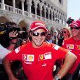Felipe Massa et Michael Schumacher à Venise en septembre 2006.