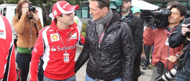 Michael Schumacher : Un ami