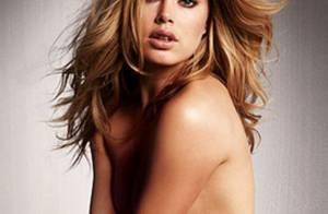 Quand Doutzen Kroes pose topless pour Victoria's Secret... c'est très joli !