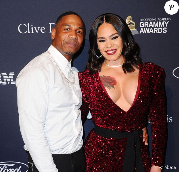 Faith Evans et Stevie J au gala de la Clive Davis Foundation à Los Angeles. Le 24 janvier 2020.