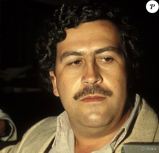 Pablo Escobar en Colombie en 1988.