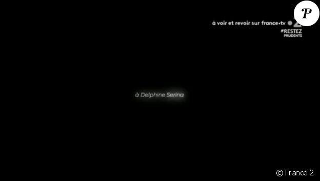 """Hommage à Delphine Serina dans la série """"Un si grand soleil"""" sur France 2. Le 1er juin 2020."""