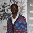 Claude Makelele au cinéma Publicis, sur les Champs-Elysées, à l'occasion de l'avant-première de  More than a Game , le documentaire consacré à LeBron James, à Paris, le 2 septembre 2009 !