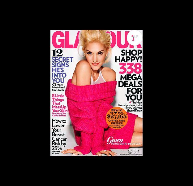 Gwen Stefani en Une du Glamour