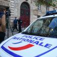 La Police Technique et Scientifique à l'hôtel de Pourtalès à Paris le 3 octobre 2016.