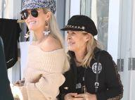 """Laeticia Hallyday célèbre sa maman, """"une super grand-mère"""" pour Jade et Joy"""