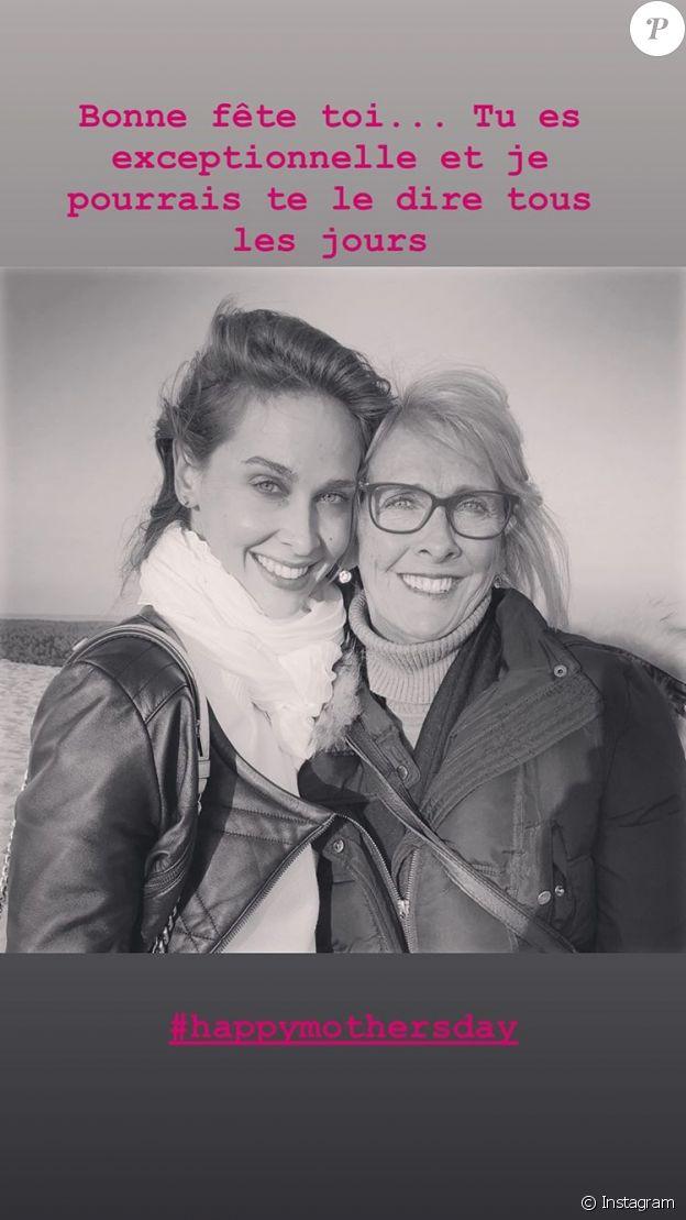 Ophélie Meunier et sa maman, le 7 juin 2020 sur Instagram.