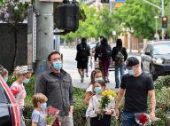 Ben Affleck : Avec ses enfants et Matt Damon, il rend hommage à Breonna Taylor