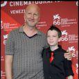 John Hillcoat et Kodi Smit-McPhee, à l'occasion de l'avant-première de  The Road , à la 66e Mostra de Venise, le 3 septembre 2009 !