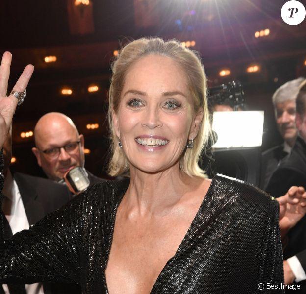 """Sharon Stone - Les célébrités assistent à la 21ème cérémonie des """"GQ Men of The Year Awards"""" à l'Opéra-Comique de Berlin, le 7 novembre 2019."""