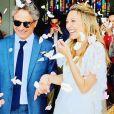 Mariage de Laura Smet et Raphaël Lancrey-Javal - Photographie partagée par Nathalie Baye sur Instagram. Juin 2019.