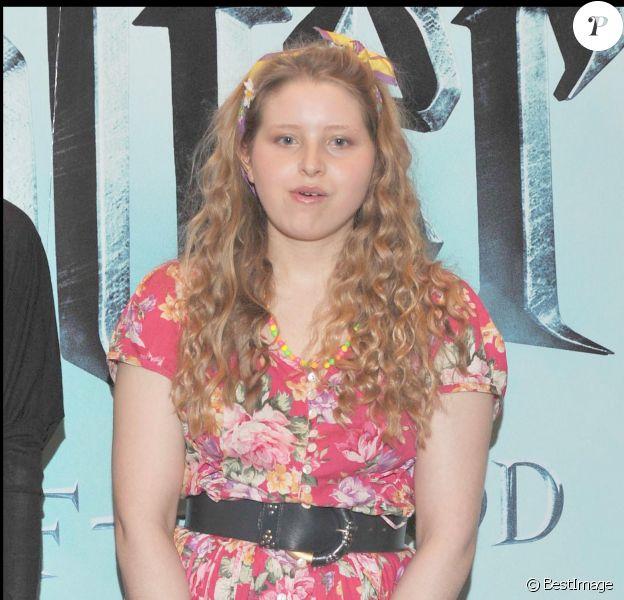 """Jessie Cave - Photocall du film """"Harry Potter et le prince de Sang-Mêlé"""", le 6 juillet 2009 à Londres."""