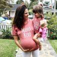 Karla Souza et sa fille Gianna. Mai 2020.
